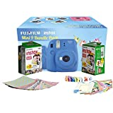 FujiFilm Instax Mini 9 Bundle Pack Combo Offer - ( Cobalt Blue Camera + 2 Twin Pack Films + Accessories)