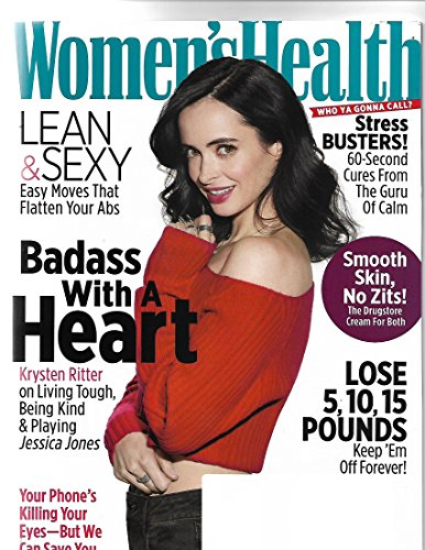 Women's health magazine November 2017 {Krysten Ritter Cover}