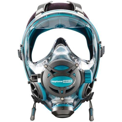 Ocean Reef Neptune Space G. Divers Series Full Face Mask Kit (Medium/Large, Emerald) by Ocean Reef (Image #1)