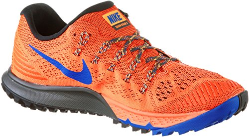 b491e29a13a Amazon.com  NIKE AIR ZOOM TERRA KIGER 3 749334-800 Total Orange Deep Pewter  Laser Orange Game Royal (13