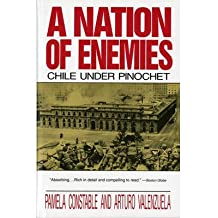 [(A Nation of Enemies: Chile Under Pinochet)] [Author: Pamela Constable] published on (July, 1993)