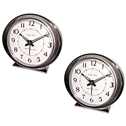 Westclox Baby Ben 11611Q Battery Operated Alarm Clock - Quantity 2