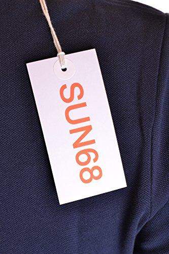 SUN 68 Femme MCBI286132O Bleu Coton Polo