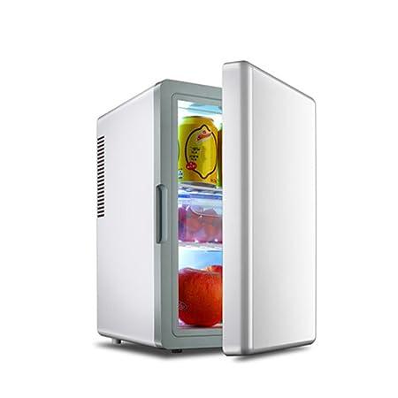 JCOCO Mini nevera silenciosa 16L y calentador-blanco: Amazon.es: Hogar