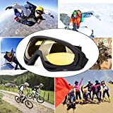 DODOING Ski Goggles, 2-Pack Snowboard Goggles with
