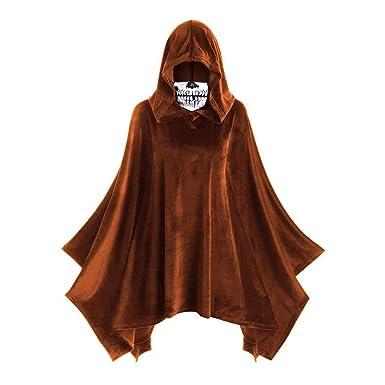 Disfraz de Halloween, Sasstaids, Top con Capa Vintage con Capucha ...