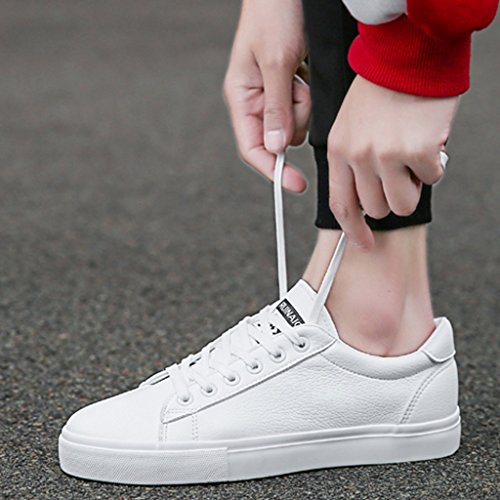 tendenza Black da scarpe casuali scarpe in da 42 Espadrillas stile Size Color casual uomo Estate di scarpe Scarpe Bianca tela basse uomo scarpe scarpe nuove da coreano uomo di stile EFqZxwOF