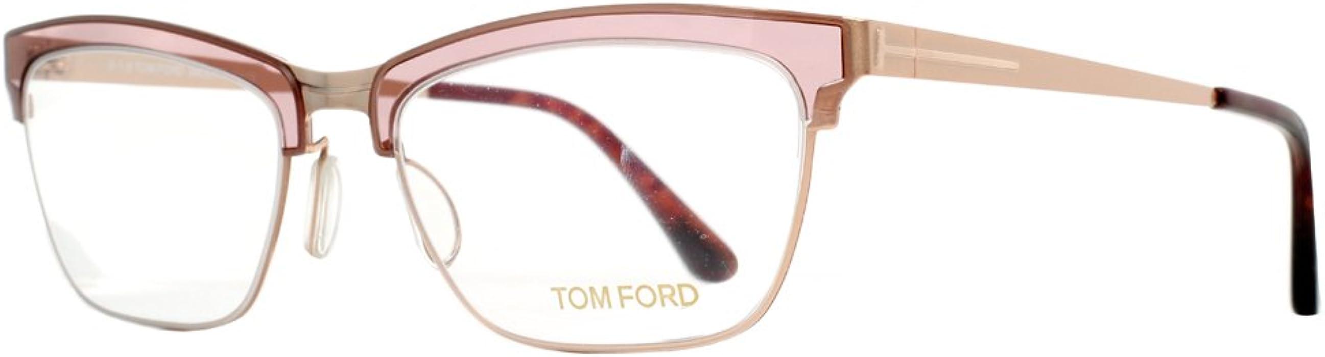 c76062a39b TOM FORD Women FT 5392 050 AI MATTE GOLD BEIGE 54mm at Amazon Men s ...
