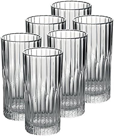Duralex Manhattan - Vaso largo (305 ml), transparente