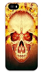 Angry Skull Design for iphone 5/5s Case