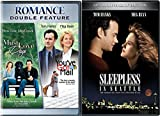 Girls Dogs & Guys Classic Romantic Comedy Pack Sleepless in Seattle & You've Got Mail + Must Love Dogs DVD Triple Feature Bundle