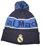 Real Madrid FC Team Beanie (Night Indigo/Blue Striped) style C