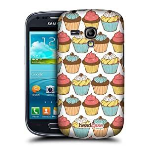 AIYAYA Samsung Case Designs Yummy Patterns Cupcakes Protective Snap-on Hard Back Case Cover for Samsung Galaxy S3 III mini I8190