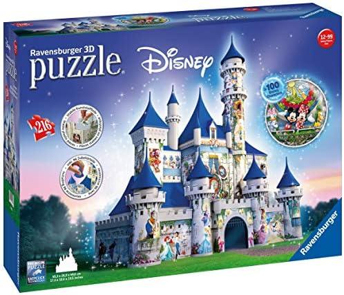 Ravensburger - Puzzle 3D - Building - Château de Disney - 12587