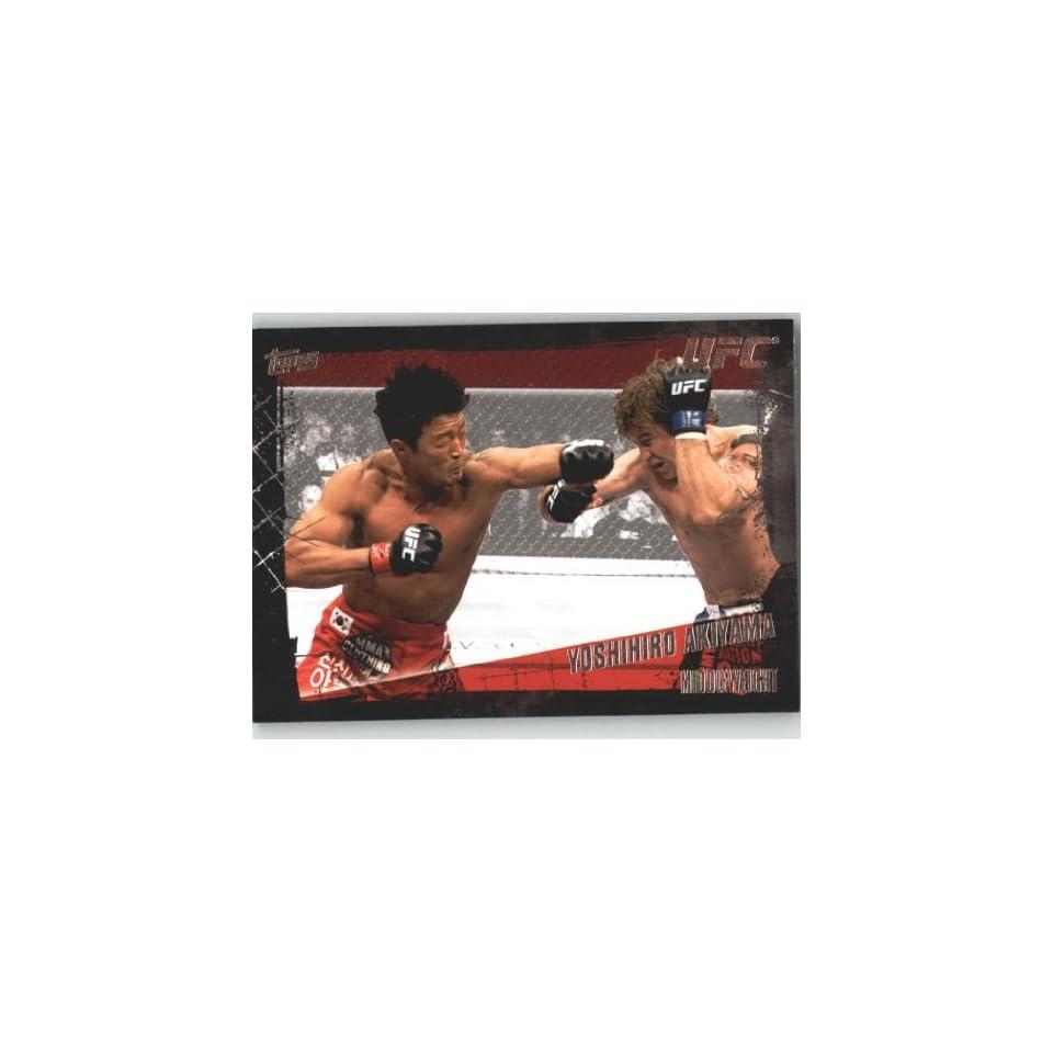 2010 Topps UFC Trading Card # 89 Yoshihiro Akiyama (Ultimate Fighting