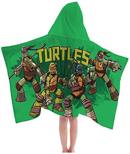 - Nickelodeon Teenage Mutant Ninja Turtles Retro Cotton Hooded Cape