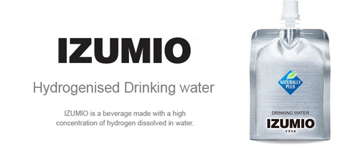 IZUMIO Hydrogen Infused Water, Pure Drinking Water, 2.6ppm (30)