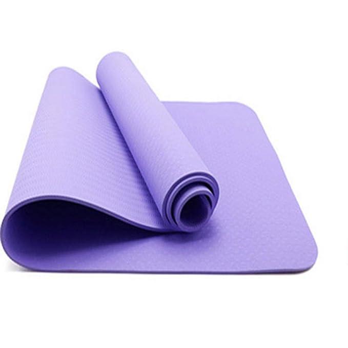Baibian Colchonetas de Yoga Antideslizantes de 6Mm TPE para ...