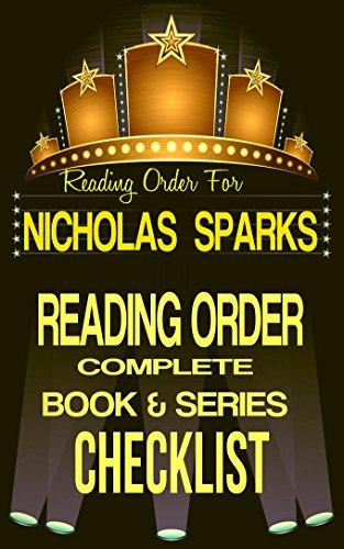 NICHOLAS SPARKS CHECKLIST NOTEBOOK Checklists ebook product image