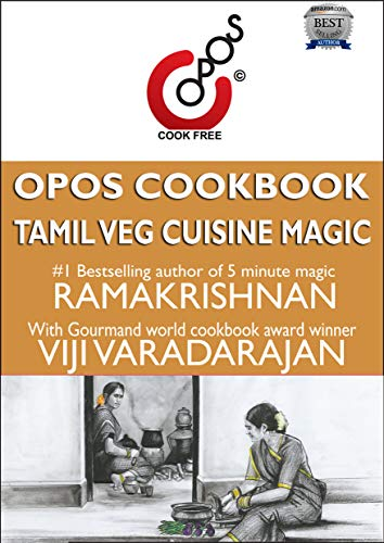 Tamil Veg Cuisine Magic: OPOS Cookbook by Viji  Varadarajan