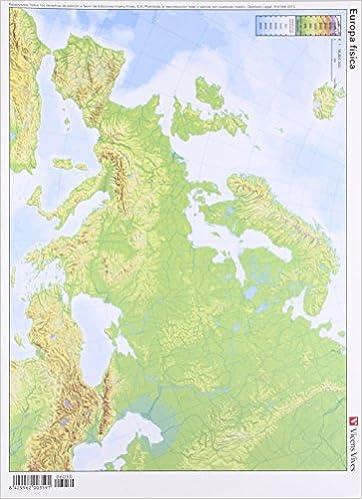 Mapa Fisic De Europa.Mapa Mudo Europa Fisico Color Vic 8429962003591 Amazon Com