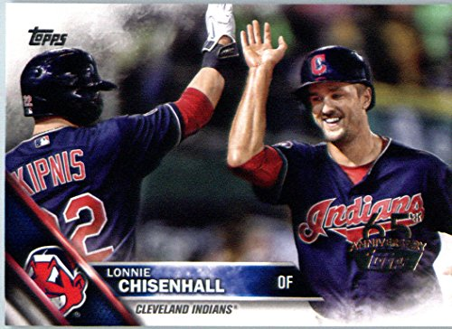 2016 Topps 65th Anniversary Edition #594 Lonnie Chisenhall Cleveland Indians Baseball Card-MINT (594 Mint)