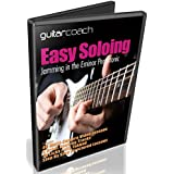 Learn Guitar Soloing: Create & Improvise Unique Guitar Solos - Includes 46 Step By Step Video Lessons - Blues, Country & Rock Backing Tracks & Full Tab