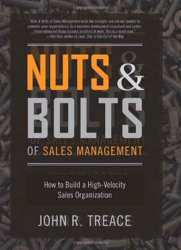 Nuts Bolts Sales Management Organization