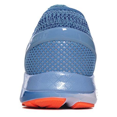 Li-ning Dames Super Licht Xiv Hardloopschoenen Demping Dmx Sneakers Blauw / Oranje / Wit