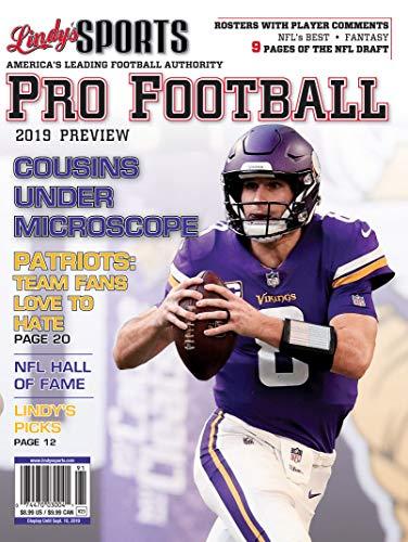 Lindy's 2019 Pro Football Preview - Minnesota Vikings