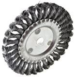 Ansen Tools AN-141 6-Inch Knotted Wire Wheel Brush