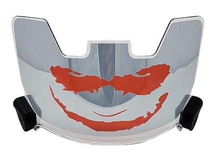 3a4ae702 Amazon.com : Soldier Sports Football Eye Shield Visor Joker - Silver ...