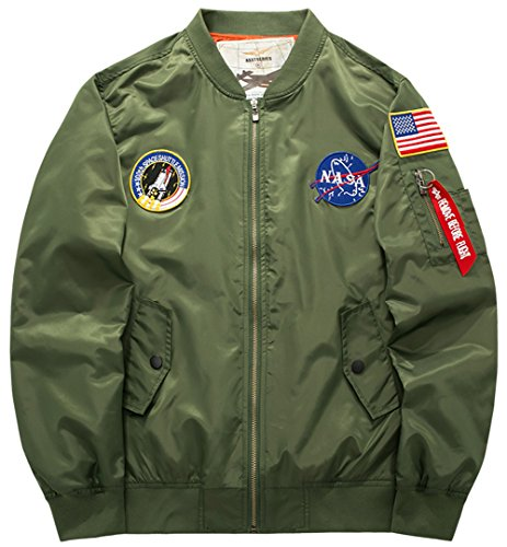 Manteaux Force Homme Pilot Aviateur armygreen Bomber Flight Veste Ma1 Vol Classique Couleur B8805 Xs Jacket Yyzyy Blousons 4xl Coat Air 16 YtBSYq