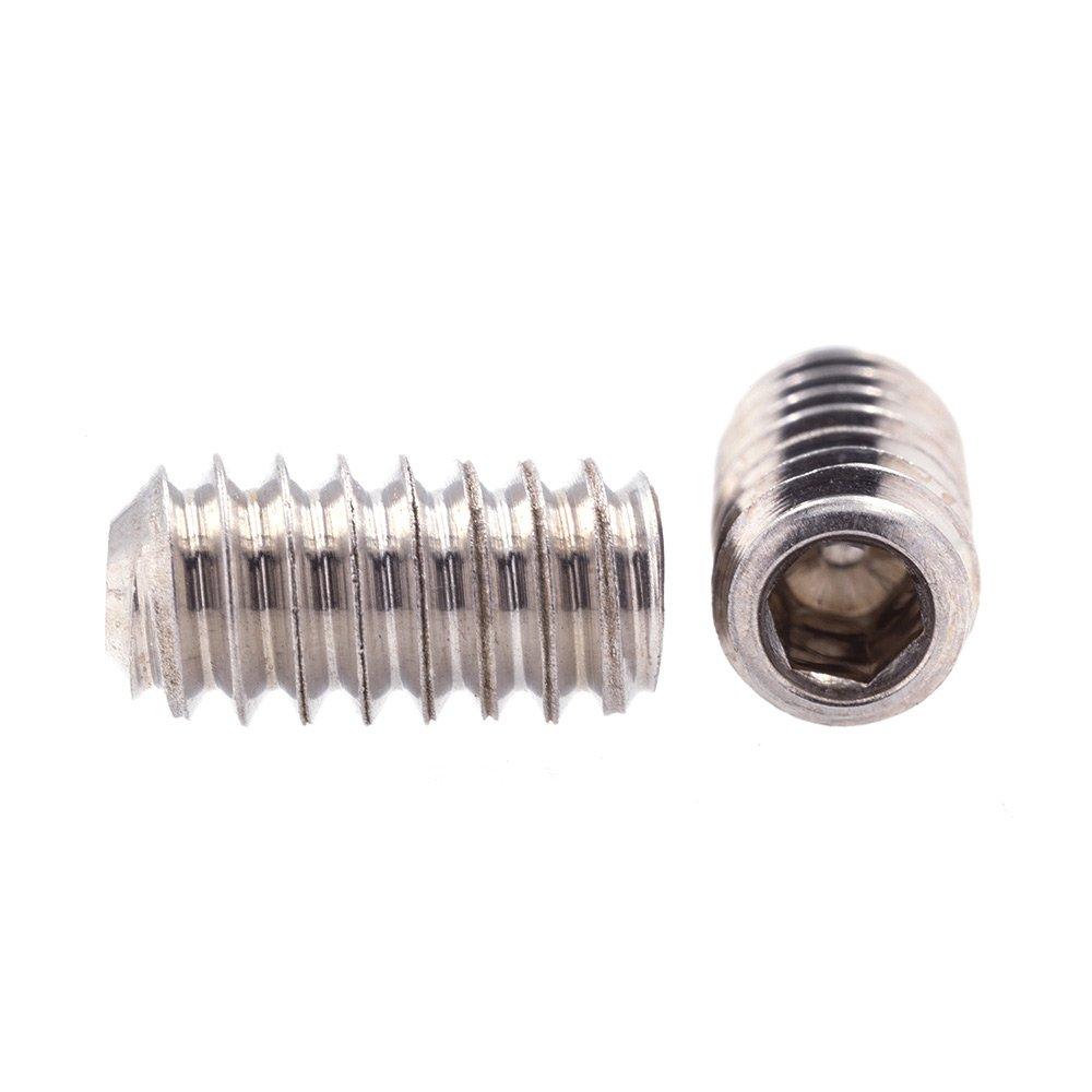 1//4 in-20 X 1 in Prime-Line 9183765 Socket Set Screws 10-Pack Grade 18-8 Stainless Steel