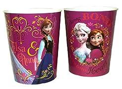 Disney Frozen Tin Wastebasket (Elsa and ...