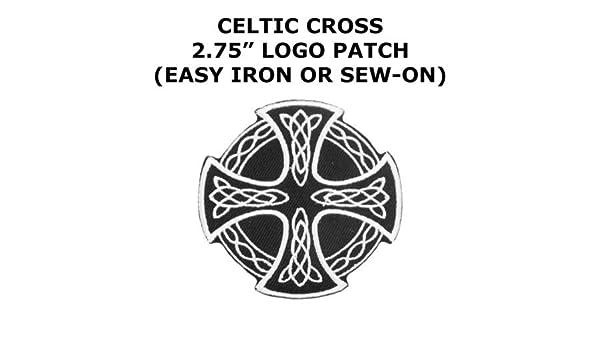 Parche para planchar con diseño de cruz celta irlandesa para ...