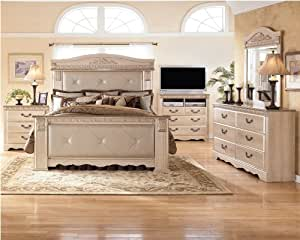 silverglade mansion bedroom set by signature design by ashley kitchen dining. Black Bedroom Furniture Sets. Home Design Ideas