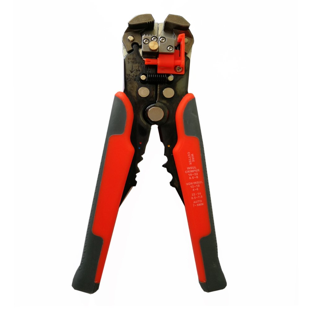 Hetai Wire StripperSelf-adjusting Cable Cutter Crimper,Automatic Wire Stripping Tool/Cutting Pliers Tool for Industry