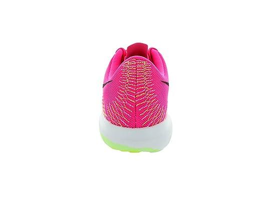 bbe1e70bf3b6 Nike Flex Fury Pink Pow black liquid Lime vlt Running Shoe 9.5 Us   Amazon.co.uk  Shoes   Bags
