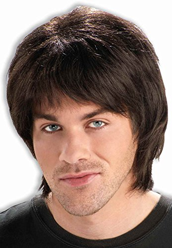 Forum Novelties 70's Teen Heart Throb Adult Wig, One Size, Yellow