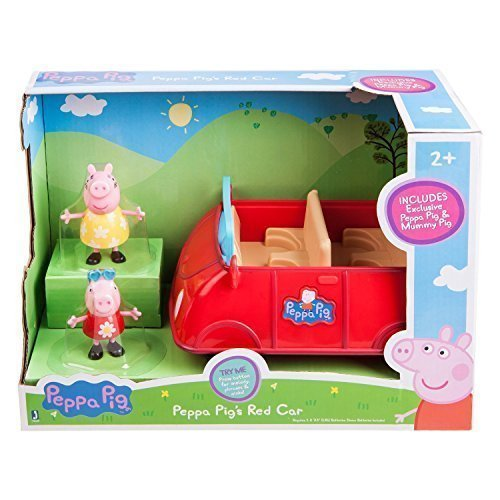 Spooky Empire Costume (Peppa Pig 8 Inch Red Car)