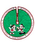 Disney Parks Mickey Minnie Mouse Holiday Tree Skirt