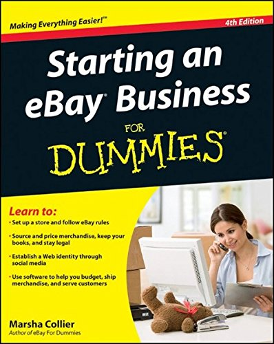 Pdf Download Starting An Ebay Business For Dummies Online Book By Marsha Collier 4g5h6j7k8765jh4gfergth56hh