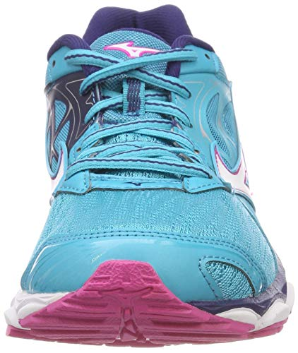 fuchsia 001 14 pblue Zapatillas Wave Multicolor Mizuno whi Purple Para Inspire Mujer wgzWSqP
