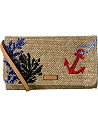 Women's Straw Beach Wristlet