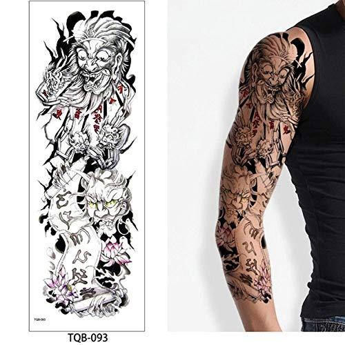 7pcs barata del tatuaje etiqueta engomada del tatuaje gran tatuaje ...