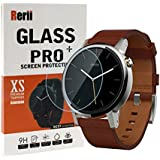 Moto 360 2nd Screen Protector - Rerii Tempered Glass Screen protector for Moto 360 2nd Generation 42mm