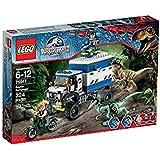 LEGO - 75917 - Jurassic World -  Jeu de Construction - La Destruction du Vélociraptor
