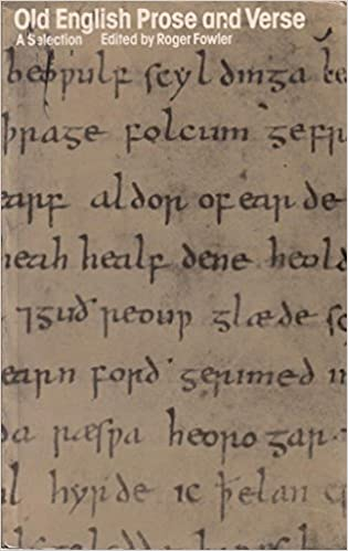 Old English Prose and Verse: An Annotated Selection with