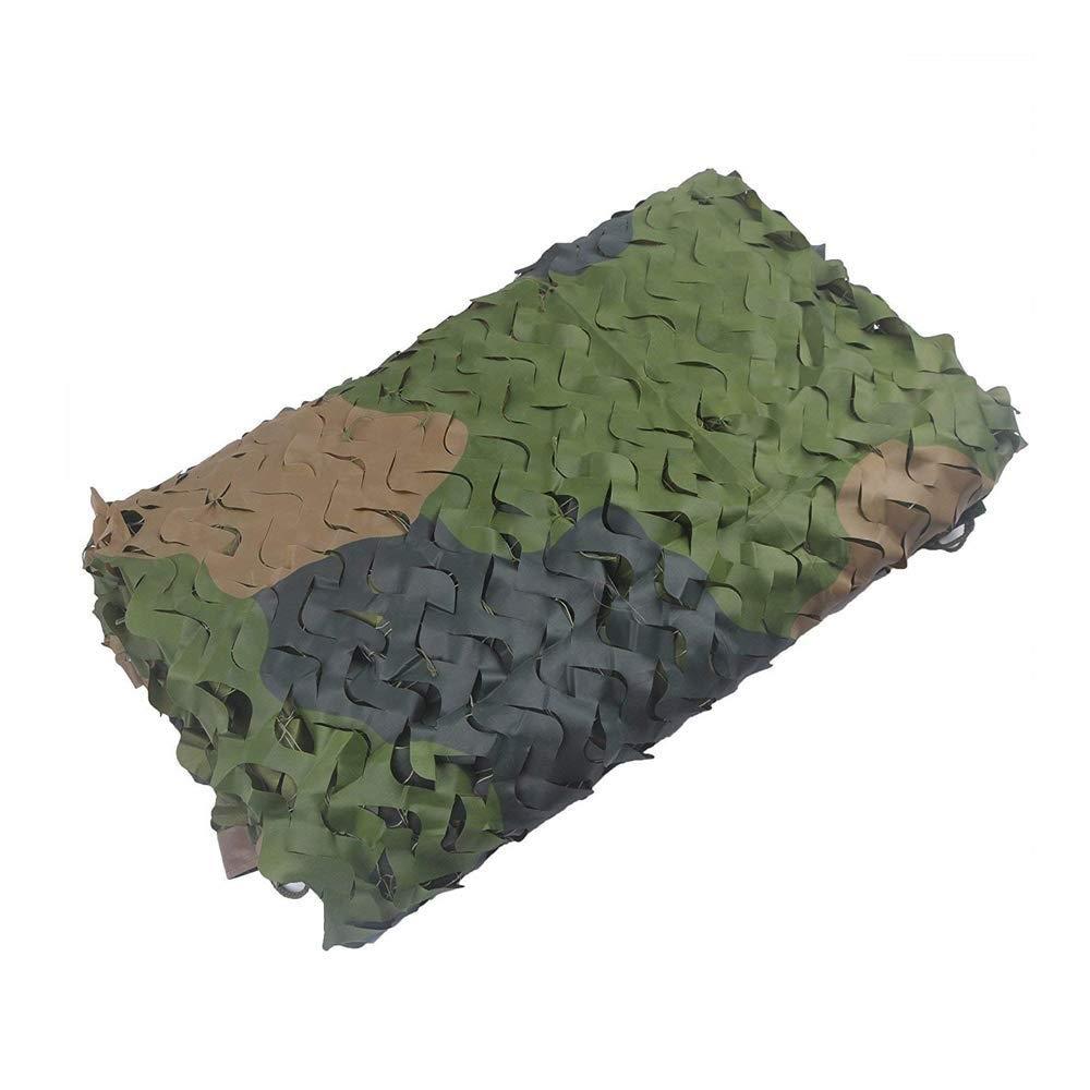 2×3メートル迷彩ネット陸軍射撃迷彩ネットキャンプ隠す軍用森林サンシェードネットオックスフォード生地シェード装飾寝室ガーデンパーティー B07QQT5RKD   4m×6m